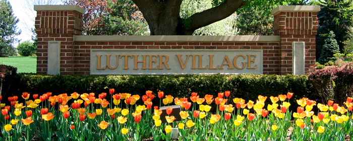 Luther Village Entrance